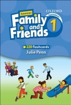 فلش کارت Flashcards American Family and Friends 1 Second Edition