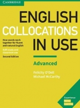 کتاب انگلیش کالوکیشین این یوز English Collocations in Use Advanced 2nd