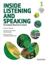 کتاب زبان Inside Listening and Speaking 1+CD