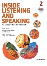 کتاب زبان Inside Listening and Speaking 2+CD