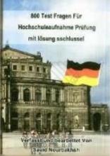 800 تست کنکور زبان آلمانی
