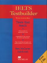 کتاب آیلتس تست بیلدر IELTS Testbuilder 1 with CD