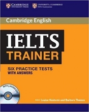 کتاب کمبریج آیلتس ترینر (cambridge IELTS Trainer (Six Practice Tests with Answers