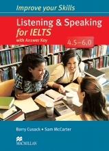کتاب ایمپرو یور اسکیلز Improve Your Skills: Listening and speaking for IELTS+CD 4.5-6.0