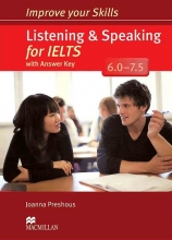 کتاب ایمپرو یور اسکیلز Improve Your Skills: Listening and speaking for IELTS+CD 6.0-7.5