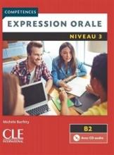 کتاب فرانسه اکسپقسیون اقل ویرایش دوم Expression orale 3 - Niveau B2 + CD - 2eme edition