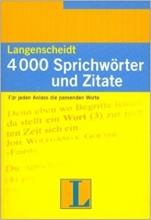 کتاب زبان Langenscheidt 4000 Sprichworter Und Zitate