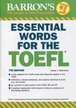 کتاب زبان Essential Words for the TOEFL 7th