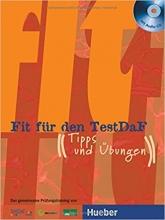 کتاب زبان Fit Fur Den Testdaf + CD