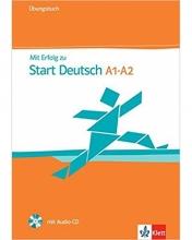 کتاب زبان MIT Erfolg Zu Start Deutsch A1 - A2: Ubungsbuch MIT Audio-CD
