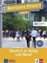 Berliner Platz Neu: Lehr- Und Arbeitsbuch 4 + CD