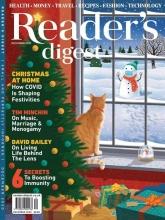 مجله ریدر دایجست Readers Digest Christmas at home December 2020