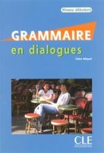 کتاب زبان Grammaire en dialogues - Niveau debutant - Livre + CD