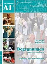 کتاب زبان Begegnungen: Kurs- und Arbeitsbuch A1+ CD