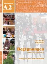کتاب Begegnungen: Kurs- und Arbeitsbuch A2+ CD