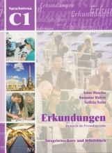 کتاب زبان Erkundungen: Kurs- Und Arbeitsbuch C1 + CD