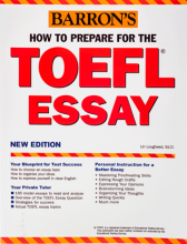 How to Prepare for the TOEFL Essay Barrons