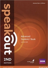 کتاب آموزشی اسپیک اوت Speakout Advanced   2nd Edition