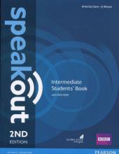 کتاب آموزشی اسپیک اوت اینترمدیت ویرایش دوم Speakout Intermediate   2nd Edition