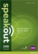 کتاب اسپیک اوت Speakout Pre-Intermediate 2nd Edition