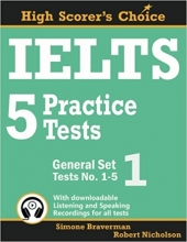 کتاب زبان IELTS 5 Practice Tests, General Set 1: Tests No. 1-5
