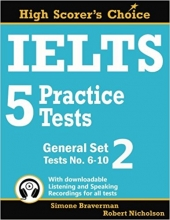 کتاب زبان IELTS 5 Practice Tests, General Set 2: Tests No. 6–10