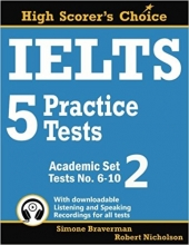 کتاب زبان IELTS 5 Practice Tests, Academic Set 2: Tests No. 6-10