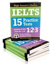 کتاب زبان مجموعه 3 جلدی IELTS 5 Practice Tests, Academic Set