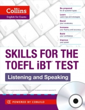 کتاب زبان Collins Skills for The TOEFL iBT Test: Listening and Speaking+CD
