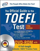کتاب تافل The Official Guide to the TOEFL Test 5th+DVD