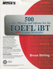 کتاب زبان NOVA: 500Words, Phrases, Idioms for the TOEFL iBT +cd