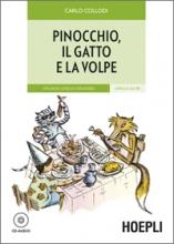 کتاب داستان ایتالیایی Pinocchio, il gatto e la volpe
