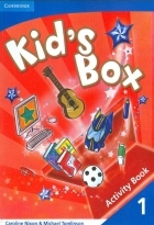 کتاب زبان Kid's Box 1 Pupil's Book + Activity Book +CD
