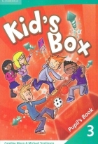 کتاب زبان Kid's Box 3 Pupil's Book + Activity Book +CD