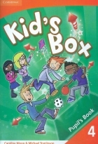کتاب زبان Kid's Box 4 Pupil's Book + Activity Book +CD