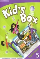 کتاب زبان Kid's Box 5 Pupil's Book + Activity Book +CD
