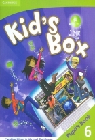 کتاب زبان Kid's Box 6 Pupil's Book + Activity Book +CD