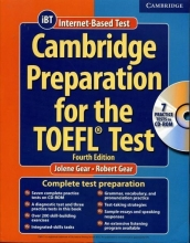 کتاب زبان تافل کمبريج Cambridge Preparation for the TOEFL Test (IBT) 4th+2CD