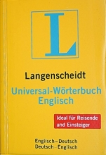 دیکشنری دوسویه Langenscheidt, Universal-Wörterbuch Englisch : Englisch-Deutsch, Deutsch-Englisch جیبی