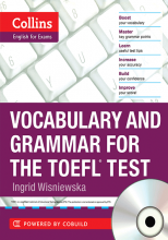 کتاب زبان Collins Vocabulary and Grammar for the TOEFL Test with cd