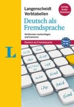 کتاب زبان Langenscheidt Verbtabellen Deutsch als Fremdsprache