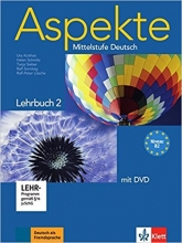 کتاب آلمانی Aspekte B2 mittelstufe deutsch lehrbuch 2 + Arbeitsbuch mit audio-CD