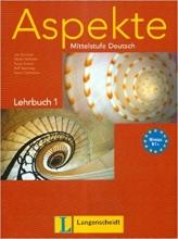 کتاب آلمانی Aspekte B1 mittelstufe deutsch lehrbuch 1 + Arbeitsbuch mit audio-CD