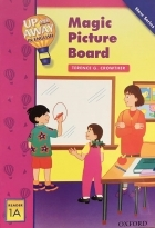 کتاب زبان Up and Away in English. Reader 1A: Magic Picture Board + CD