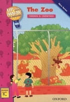 کتاب زبان Up and Away in English. Reader 1C: The Zoo + CD