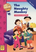 کتاب زبان Up and Away in English. Reader 1D: The Naughty Monkey + CD