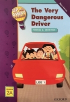 کتاب زبان Up and Away in English. Reader 2A: The Very Dangerous Driver + CD