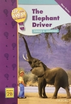 کتاب زبان Up and Away in English. Reader 2B: The Elephant Driver + CD