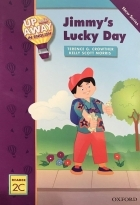 کتاب زبان Up and Away in English. Reader 2C: Jimmy's Lucky Day + CD