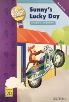 کتاب زبان Up and Away in English. Reader 2D: Sunny's Lucky Day + CD